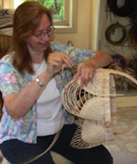 """With every basket I create, my desire is to make an object that quickly becomes art-in-hand through its daily use."""